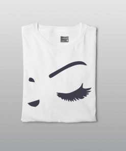 The Closed Eyes Women T-shirt
