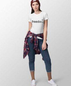 freedom women t-shirt