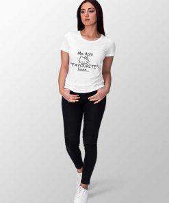 main apni favorite hu women t-shirt