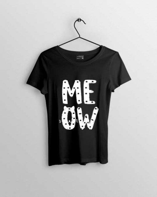 meow women t shirt