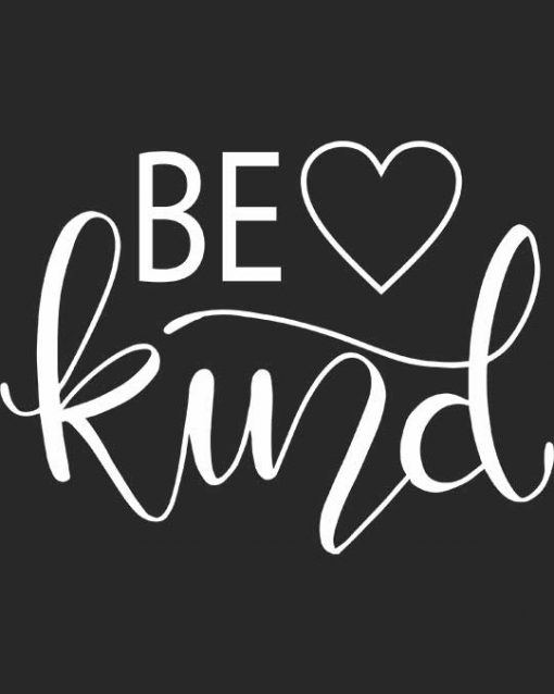 be kind women t-shirt