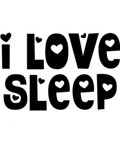 i love sleep women t-shirt