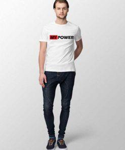 My Power Men T-shirt