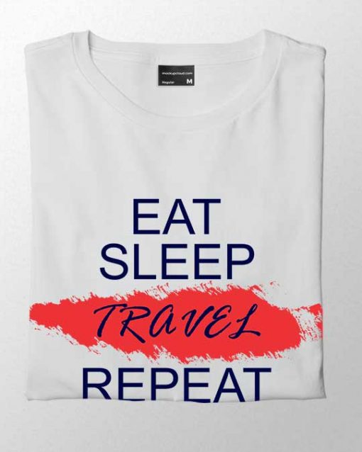 Eat Sleep Travel Men T-shirt