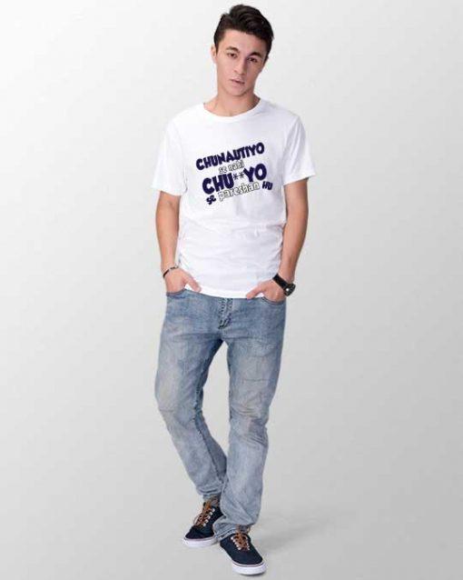 """""""Chunautiyo se nahi"""" Unisex T-shirt"""