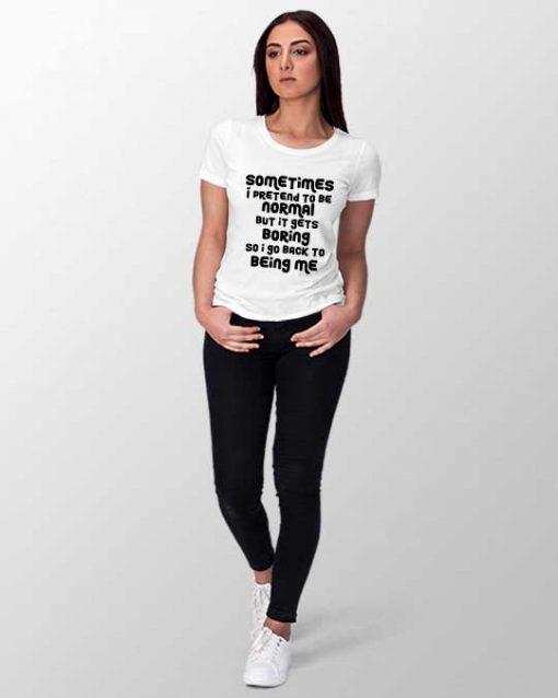 meow women t-shirt