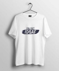 Fun Fact Idgaf Men's t-shirt